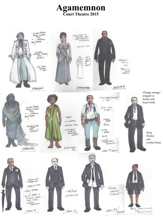 Agamemnon sketch composite