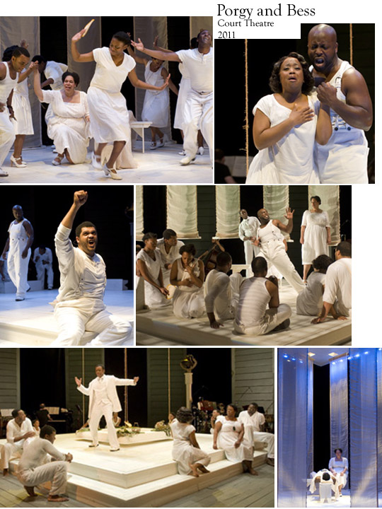 Porgy and Bess photo composite