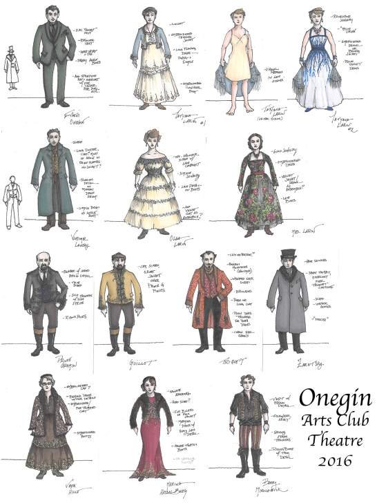 Onegin sketch composite