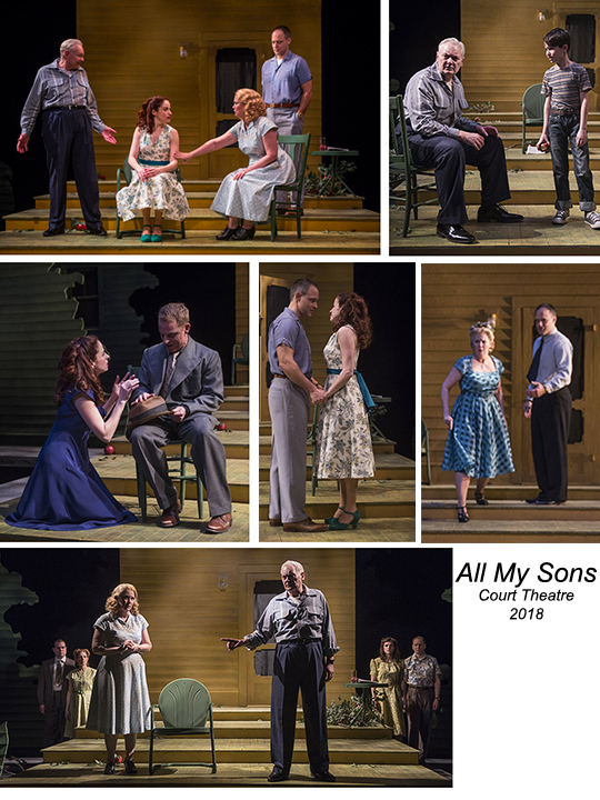 All My Sons photo composite